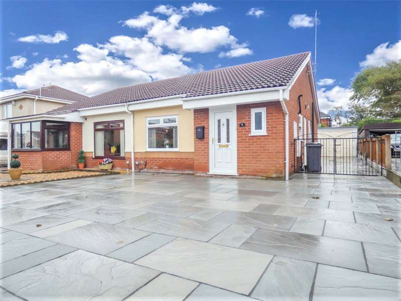 2 Bedrooms Semi Detached Bungalow for sale in Bexley Avenue, Blackpool