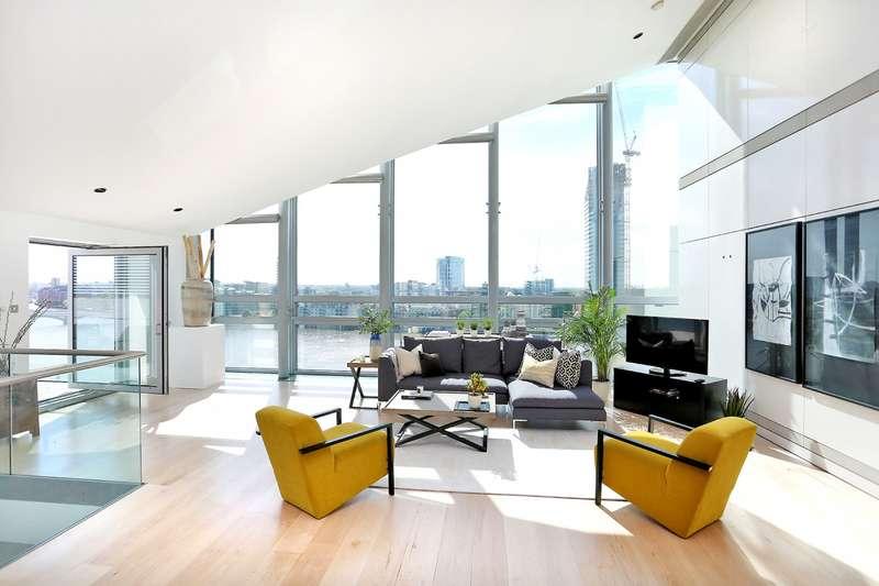 3 Bedrooms Apartment Flat for sale in Montevetro, Battersea Church Road, Battersea, SW11