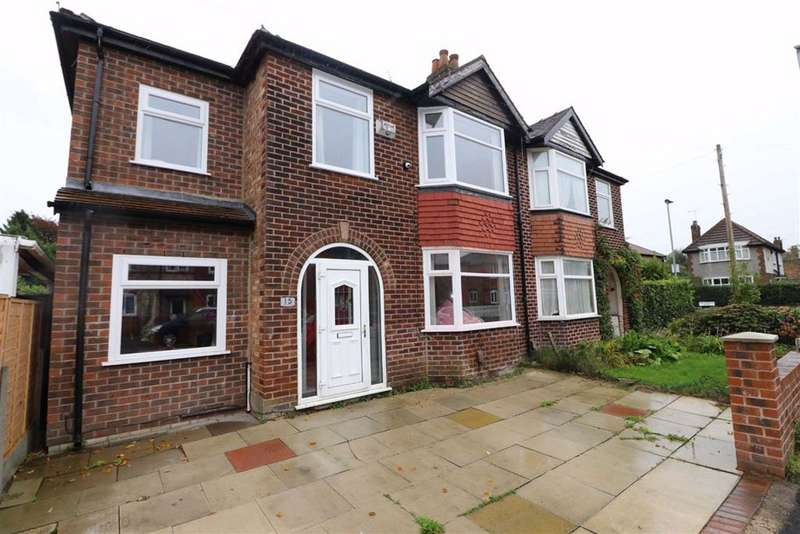 4 Bedrooms Semi Detached House for sale in Maitland Avenue, Chorlton, Manchester, M21