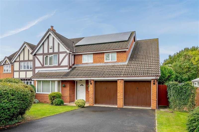 5 Bedrooms Detached House for sale in 24 Bexmore Drive, Streethay