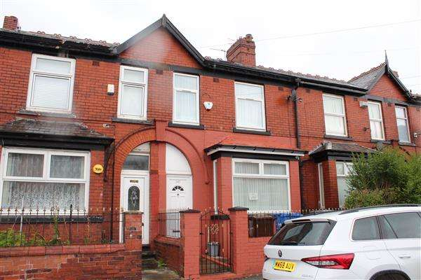 3 Bedrooms Terraced House for sale in Ashley Lane, Manchester