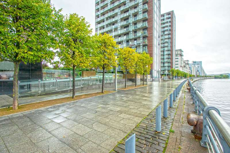 2 Bedrooms Flat for sale in Meadowside Quay Walk Glasgow Harbour