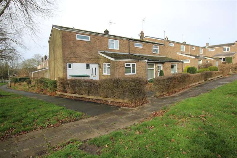 3 Bedrooms End Of Terrace House for sale in Grace Way, Stevenage, SG1 5AB