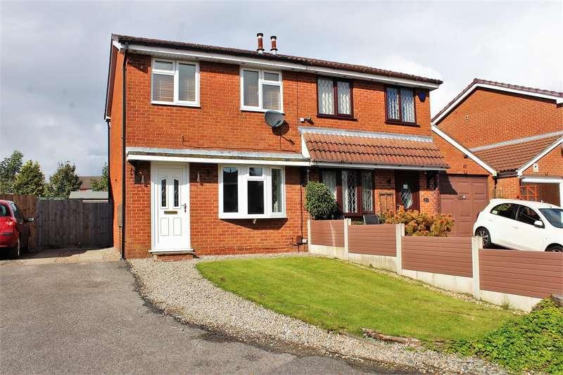 2 Bedrooms Semi Detached House for sale in Blenheim Close, Lostock Hall, Preston