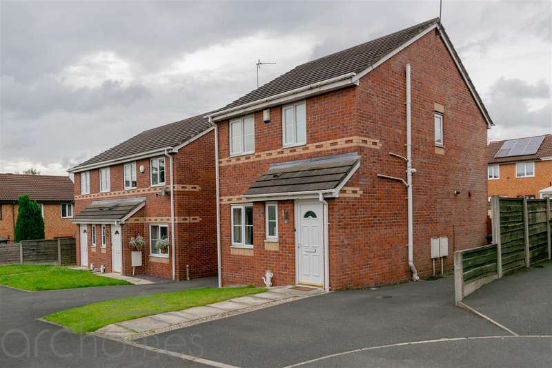 3 Bedrooms Detached House for sale in Buttercup Close, Atherton, Manchester