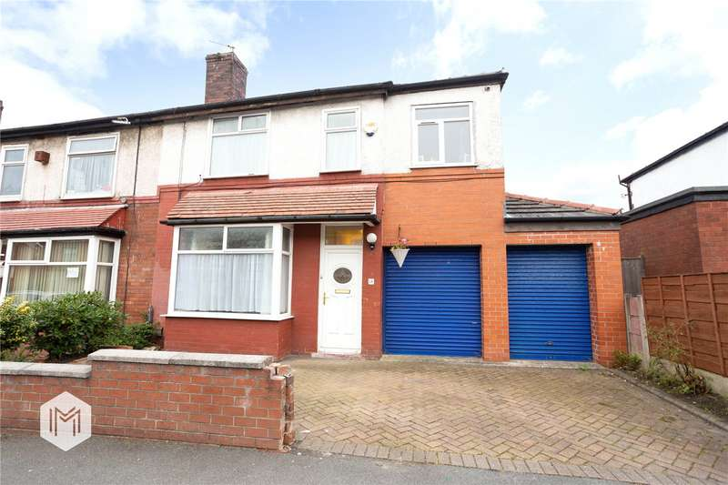 4 Bedrooms Semi Detached House for sale in Hulton Lane, Bolton, Greater Manchester, BL3