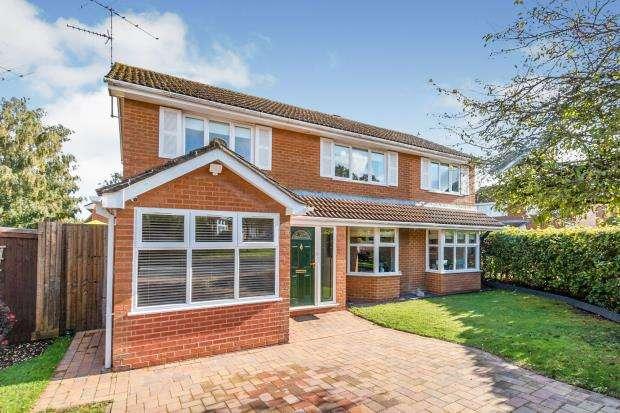 4 Bedrooms Detached House for sale in Kempshott, Basingstoke, Hampshire