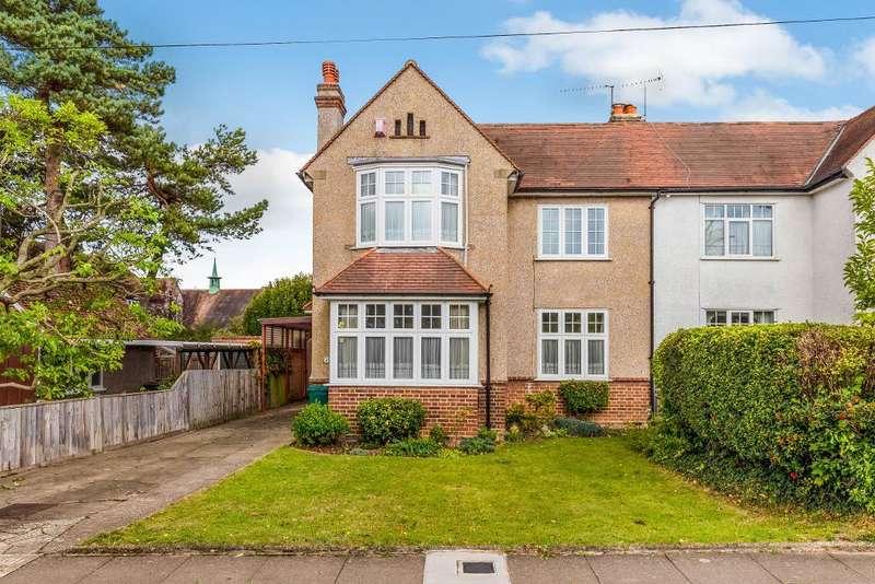 3 Bedrooms Semi Detached House for sale in Park Avenue, Orpington, Kent, BR6 9EQ