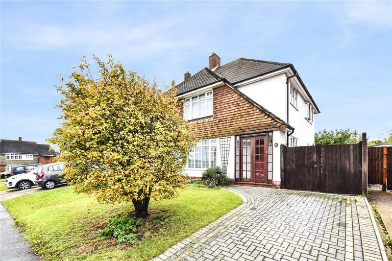 3 Bedrooms Semi Detached House for sale in Greenside, Bexley, Kent, DA5