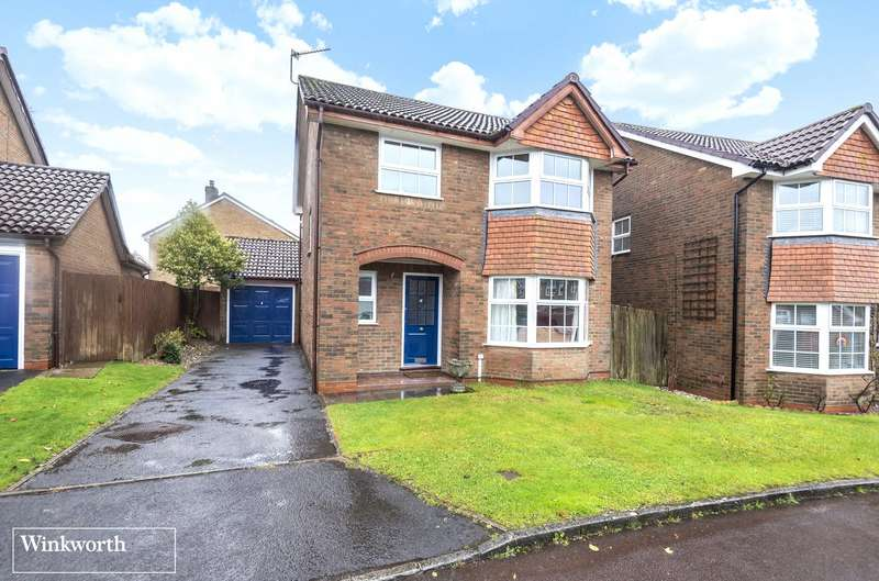 4 Bedrooms Detached House for sale in Magnus Drive, Hatch Warren, Basingstoke, RG22