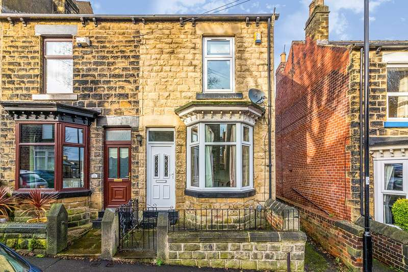 3 Bedrooms End Of Terrace House for sale in Shepperson Road, Sheffield, South Yorkshire, S6