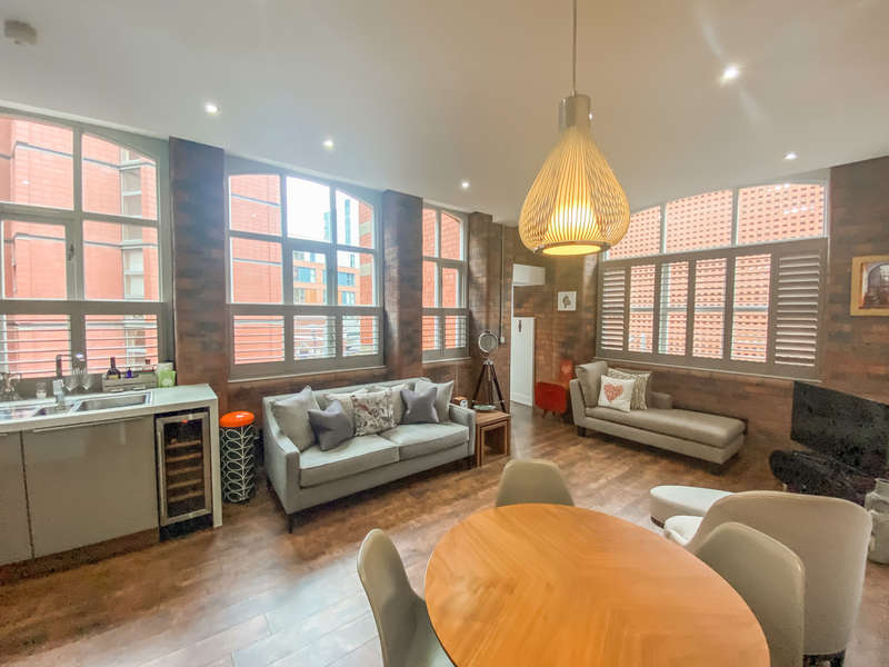 2 Bedrooms Flat for sale in Paragon Mill, 4 Cotton Street