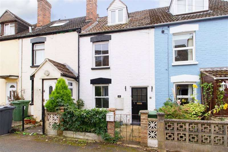 2 Bedrooms Terraced House for sale in Severn View Parade, Berkeley, GL13