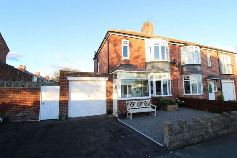 3 Bedrooms Semi Detached House for sale in Warkworth Avenue, Blyth, Northumberland