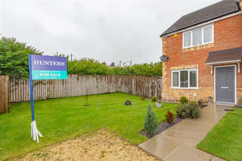 2 Bedrooms Semi Detached House for sale in Dewhirst Close, Leadgate, Consett, DH8 6LF