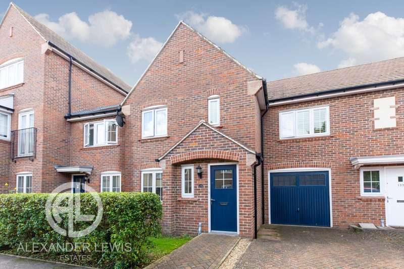 3 Bedrooms Terraced House for sale in Lindsell Avenue, Letchworth Garden City, SG6 4DG