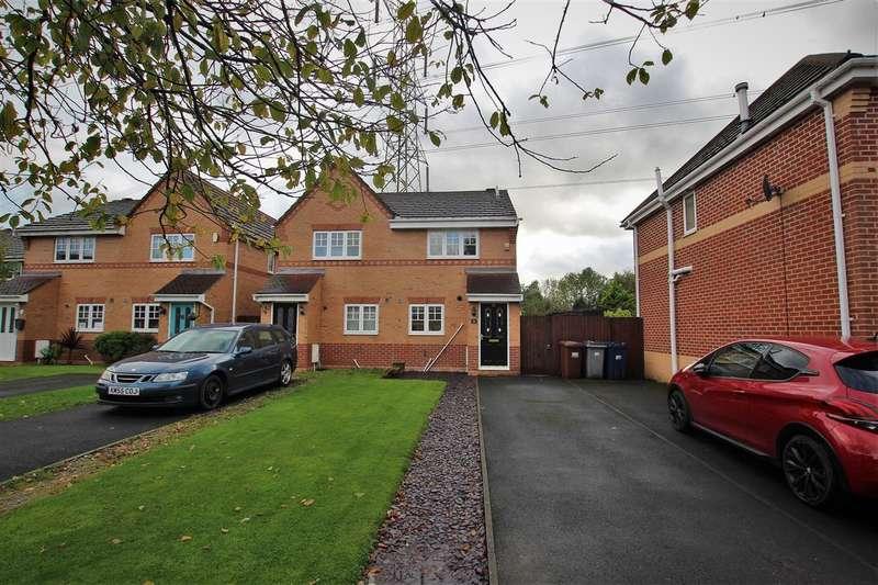 2 Bedrooms Semi Detached House for sale in Cloughfield, Penwortham, Preston