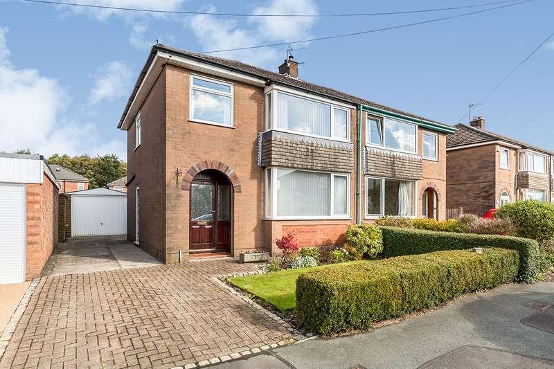 3 Bedrooms Semi Detached House for sale in Selkirk Drive, Walton-le-Dale, Preston, PR5
