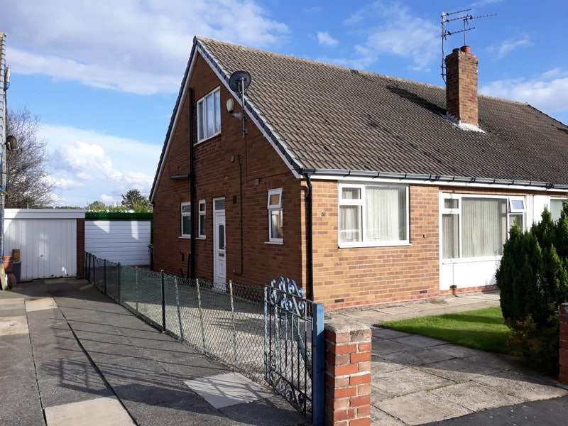 3 Bedrooms Semi Detached House for sale in Red Hall Drive, Leeds, West Yorkshire, LS14