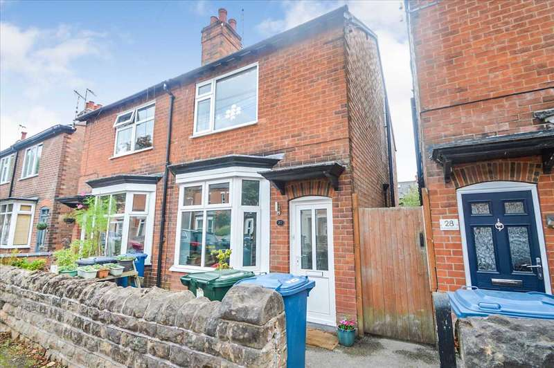 3 Bedrooms Semi Detached House for sale in Portland Road, West Bridgford, Nottingham