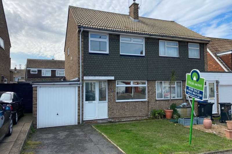 3 Bedrooms Semi Detached House for sale in Rumfields Road, Broadstairs, CT10
