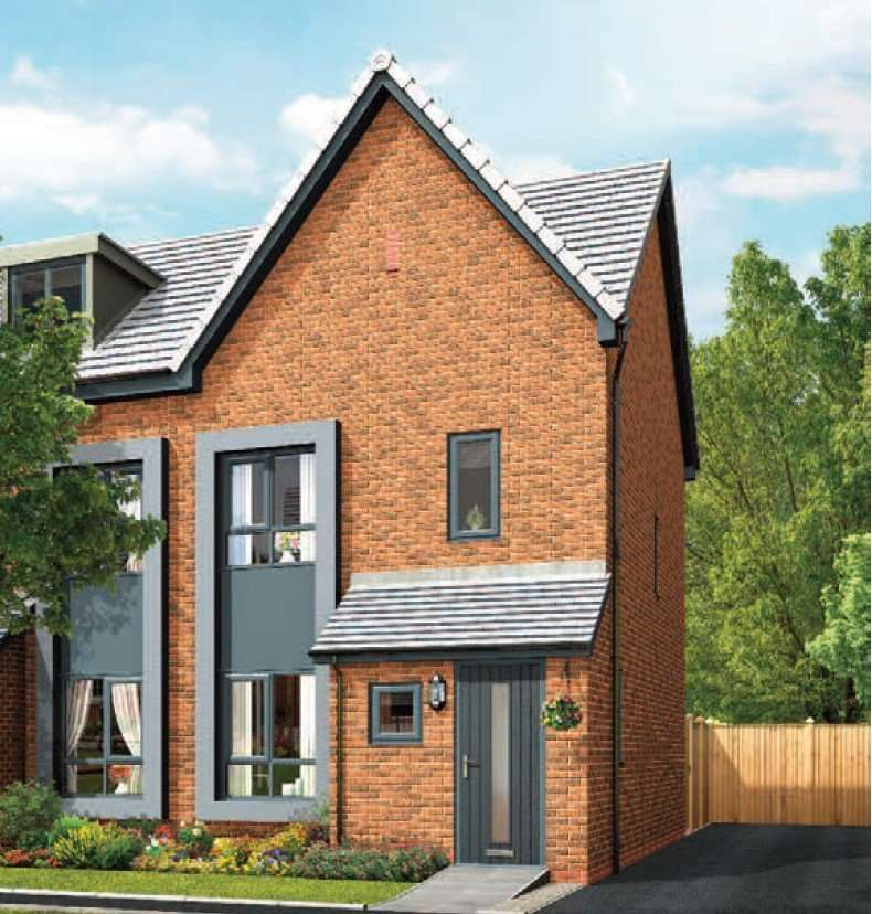 4 Bedrooms Semi Detached House for sale in Lance Corporal Andew Breeze Way, Denton, Manchester, Greater Manchester, M34