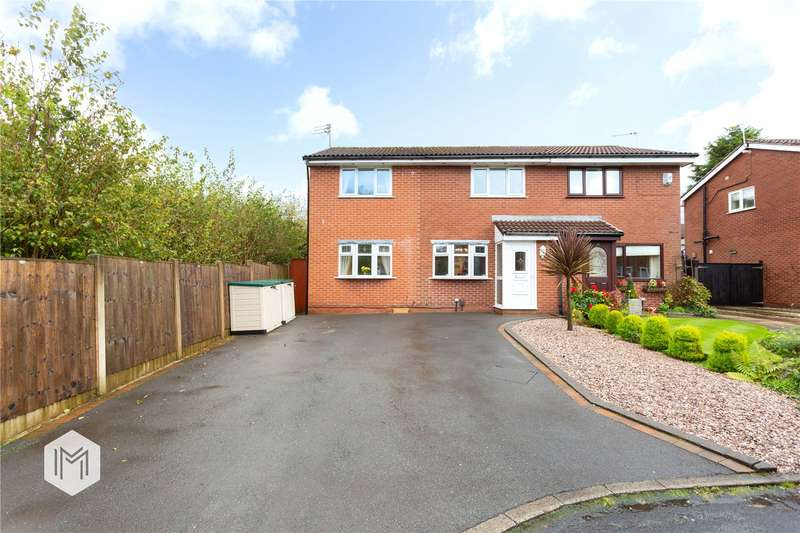 3 Bedrooms Semi Detached House for sale in Dunchurch Close, Lostock, Bolton, BL6