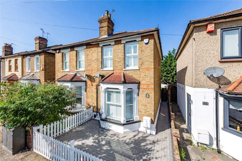 2 Bedrooms Semi Detached House for sale in Cotleigh Road, Romford, RM7