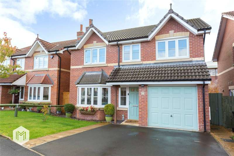 4 Bedrooms Detached House for sale in Napier Drive, Horwich, Bolton, BL6