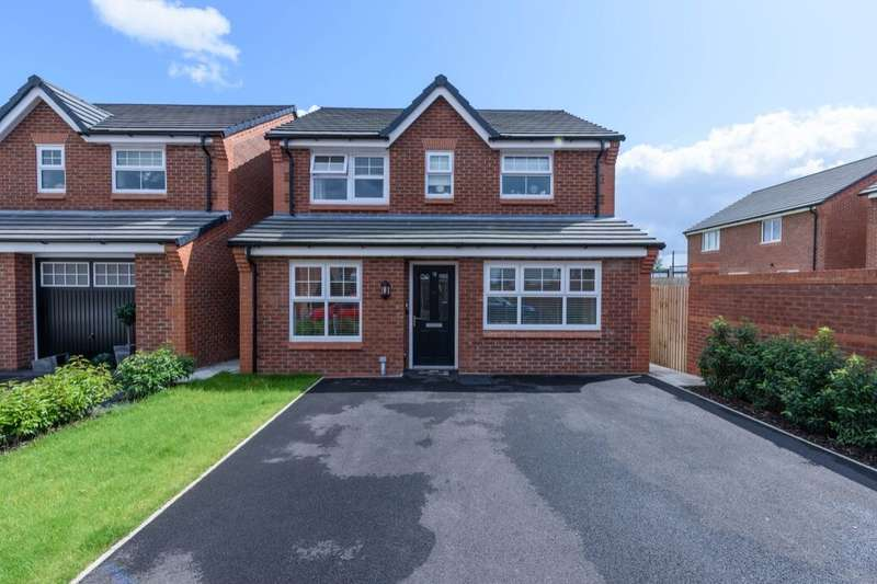 3 Bedrooms Detached House for sale in Eason Way, Ashton-Under-Lyne, OL6