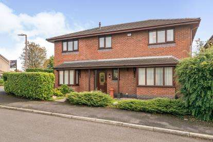 4 Bedrooms Detached House for sale in Dale Lee, Westhoughton, Bolton, Greater Manchester, BL5
