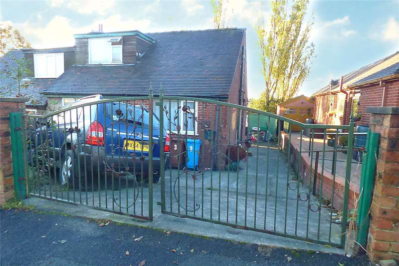 2 Bedrooms Semi Detached Bungalow for sale in North Downs Road, High Crompton, Shaw, Oldham, OL2