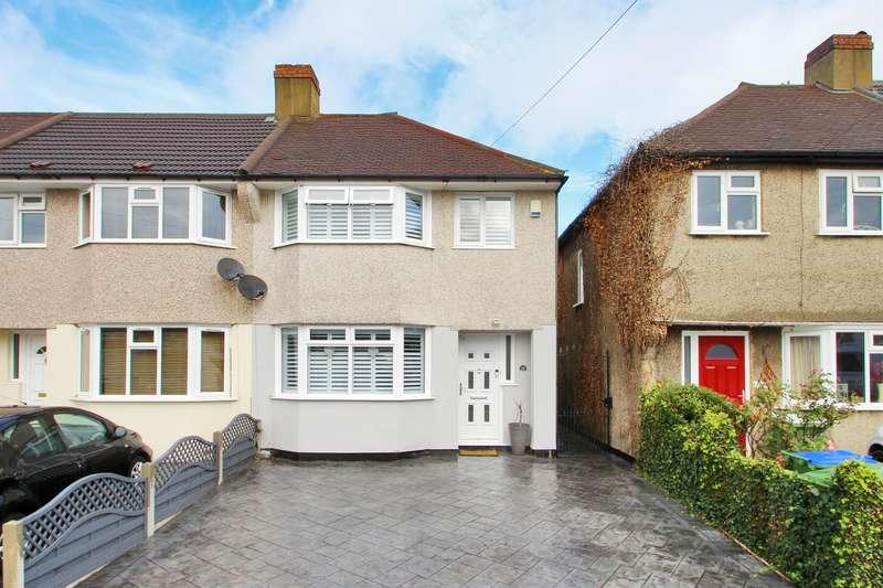 3 Bedrooms Semi Detached House for sale in Ridgeway East, Sidcup, Kent, DA15 8RZ