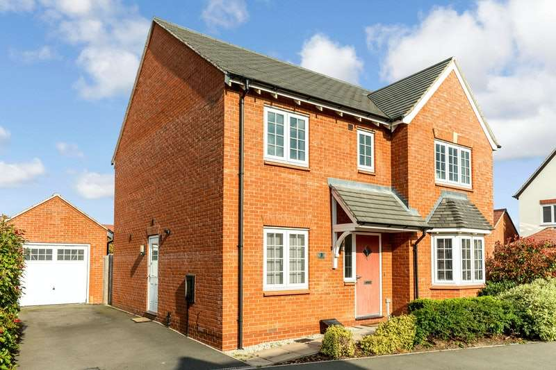 4 Bedrooms Detached House for sale in Emerson Close, Warwick, Warwickshire, CV34