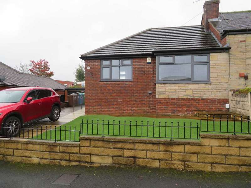 2 Bedrooms Semi Detached Bungalow for sale in Malvern Close, Shaw