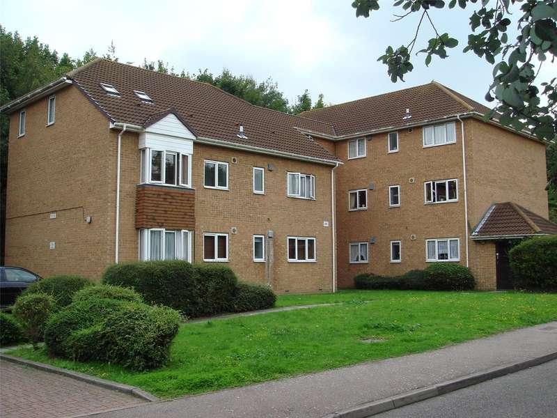 1 Bedroom Flat for sale in Findlay Close, Parkwood, Rainham, Kent, ME8