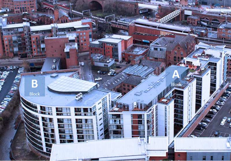 Apartment Flat for sale in Deansgate, Manchester, M15