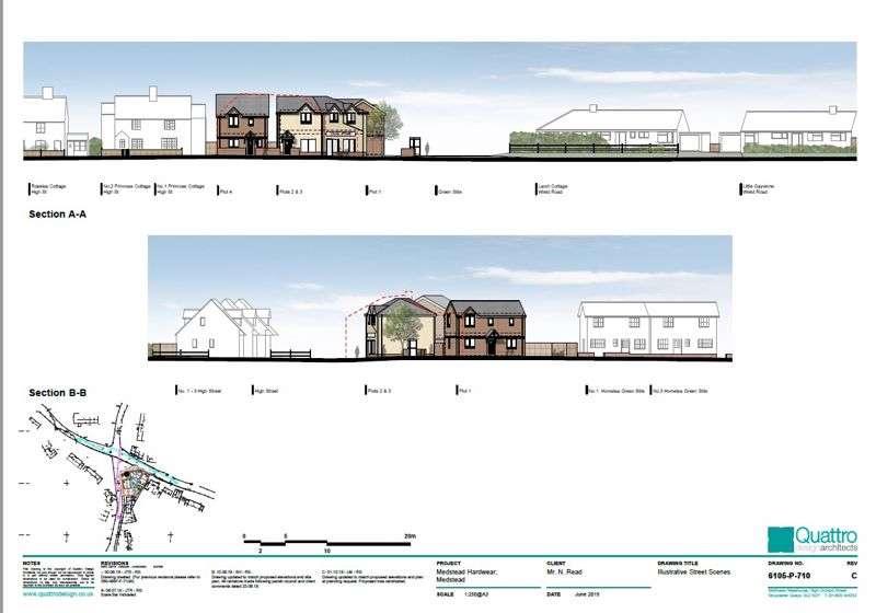 Property for sale in Medstead village centre , Alton, Hampshire