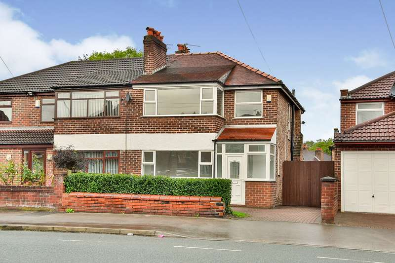 3 Bedrooms Semi Detached House for sale in Burnage Lane, Manchester, Greater Manchester, M19