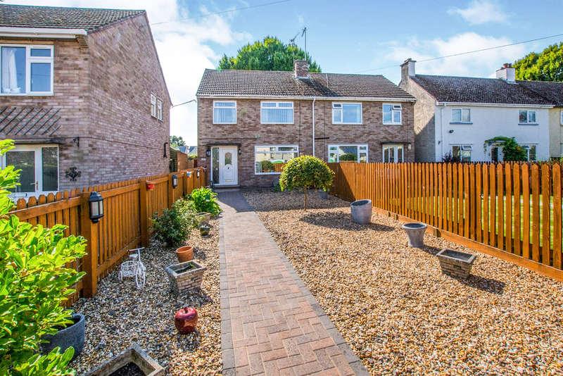 3 Bedrooms Semi Detached House for sale in Caestory Crescent, Raglan, Usk