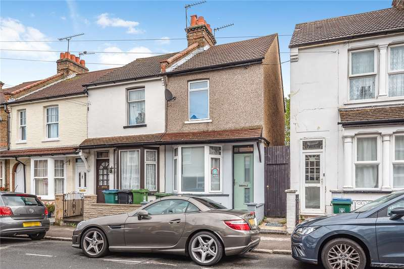 2 Bedrooms End Of Terrace House for sale in Harwoods Road, Watford, Hertfordshire, WD18