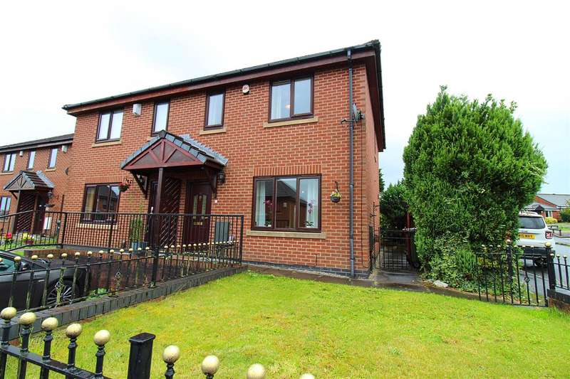 2 Bedrooms Semi Detached House for sale in Pembroke Close, Horwich, Bolton