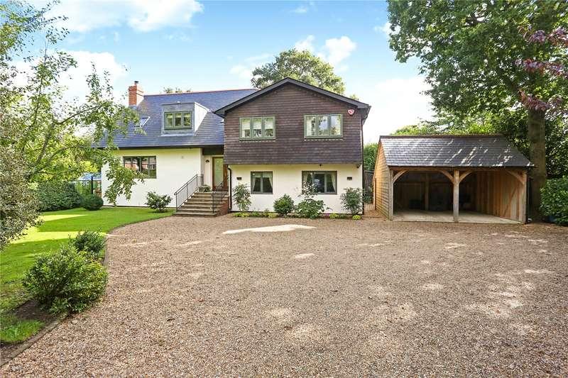 5 Bedrooms Detached House for sale in High Street, Medstead, Alton, Hampshire, GU34