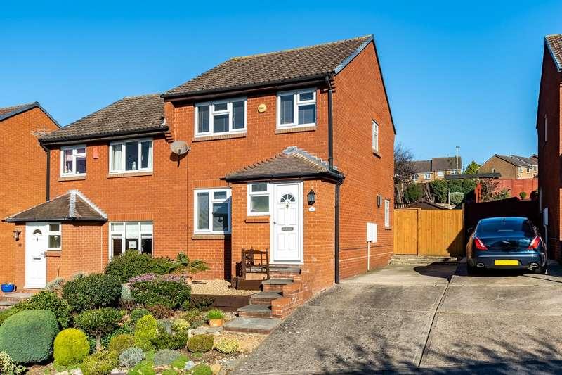 3 Bedrooms Semi Detached House for sale in Lionheart Way, Bursledon, Southampton, Hampshire. SO31 8HP