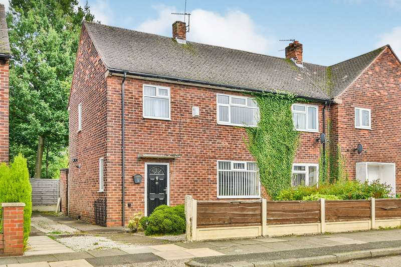 3 Bedrooms Semi Detached House for sale in Warmley Road, Manchester, Greater Manchester, M23