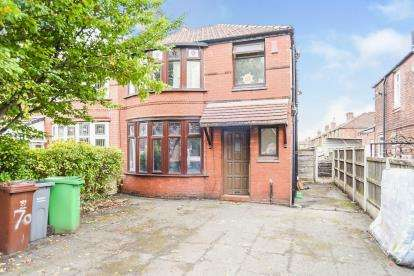 3 Bedrooms Semi Detached House for sale in Parrs Wood Road, Manchester, Greater Manchester, Uk