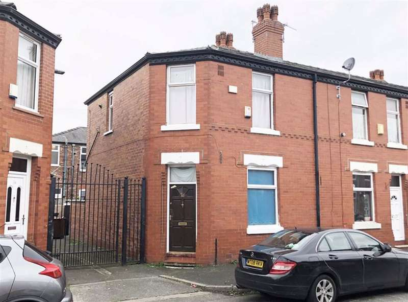 2 Bedrooms End Of Terrace House for sale in Whiteway Street, Harpurhey, Manchester