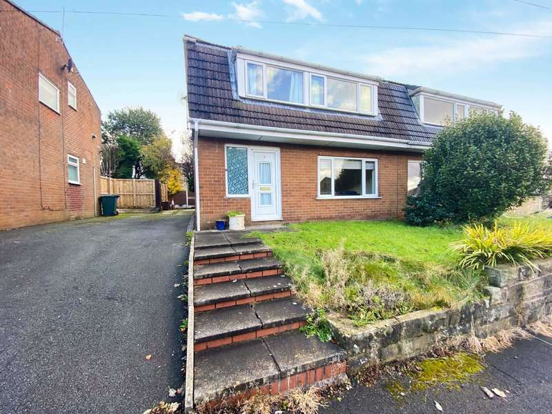 3 Bedrooms Semi Detached House for sale in Beech Close, Bacup, Rossendale