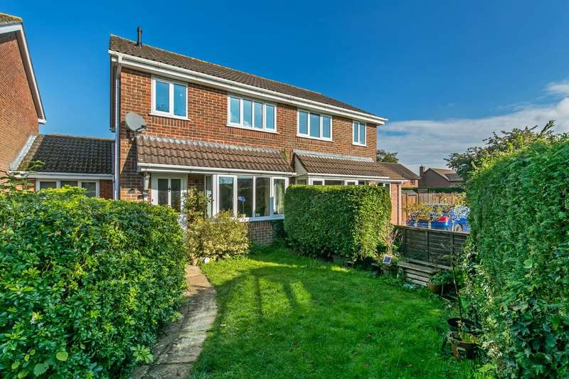 3 Bedrooms Semi Detached House for sale in Blackthorn Close, South Wonston, Winchester, SO21