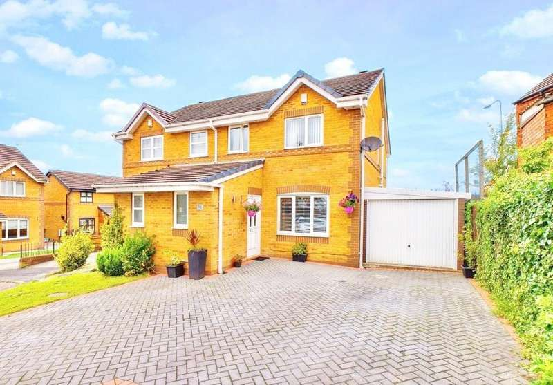 2 Bedrooms Semi Detached House for sale in Kilburn Avenue, Ashton-in-Makerfield, Wigan, WN4